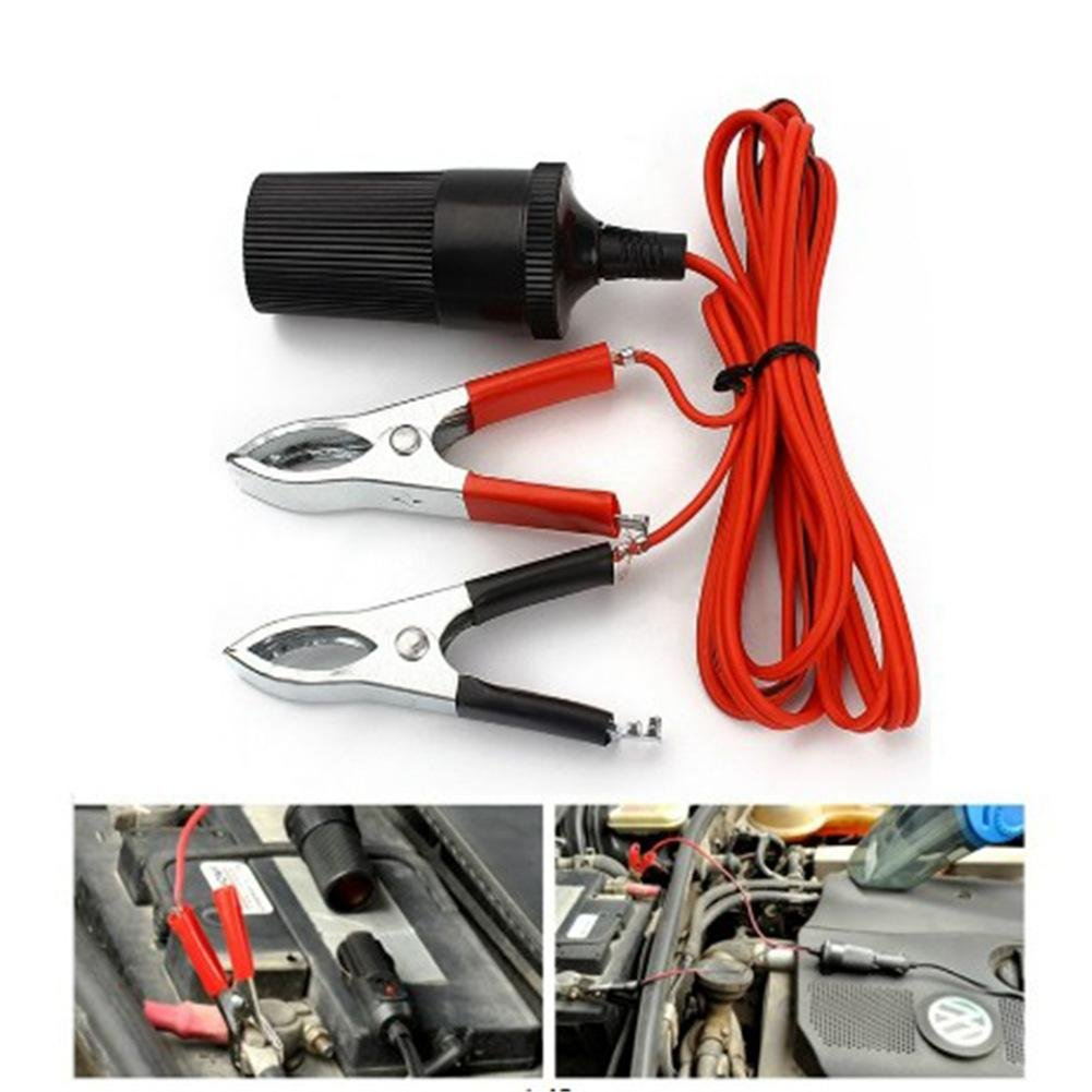 Precauti Car Battery Clip Jump Starter Cable Booster Clamp Cable Replacement Alligator Clamp Booster Battery Clips
