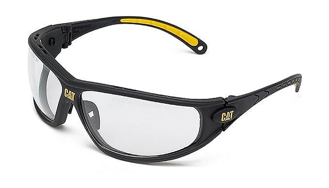 3958e263b2 Caterpillar para hombre Caterpillar Mens Dozer Workwear de protección  anteojos de seguridad color blanco, Negro