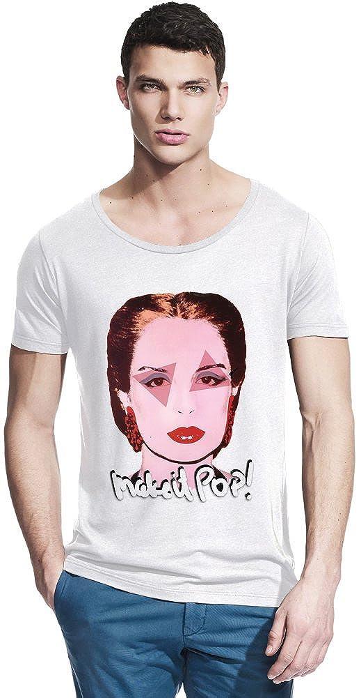 Carolina Herrera Fashion Designer Bamboo Wide Neck T-shirt X-Large ...