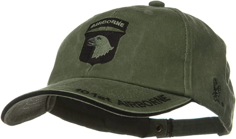 NEW 101st Airborne Division Green Low Profile Cap