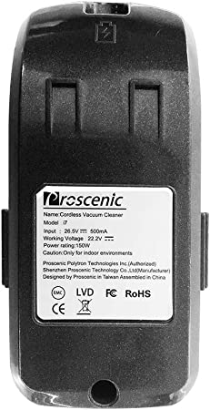 proscenic Repuesto de la bateria de Aspirador I7: Amazon.es: Hogar