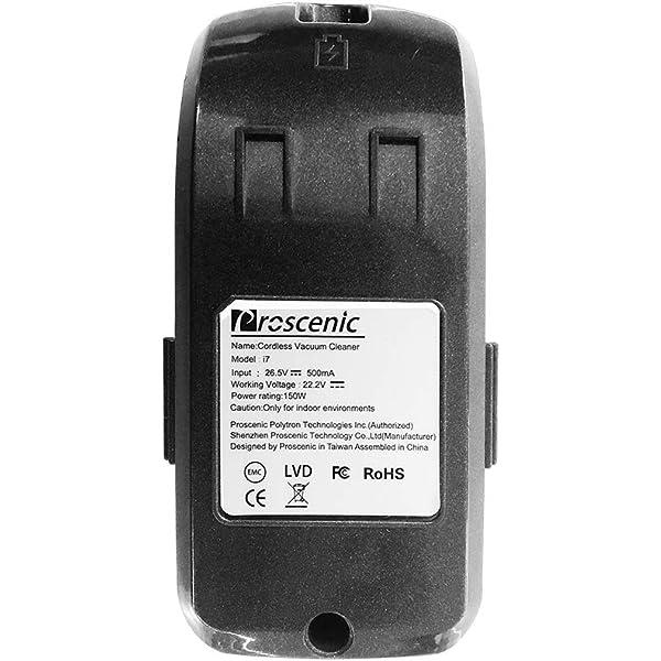 proscenic Repuesto de bateria para Aspirador sin Cable I9