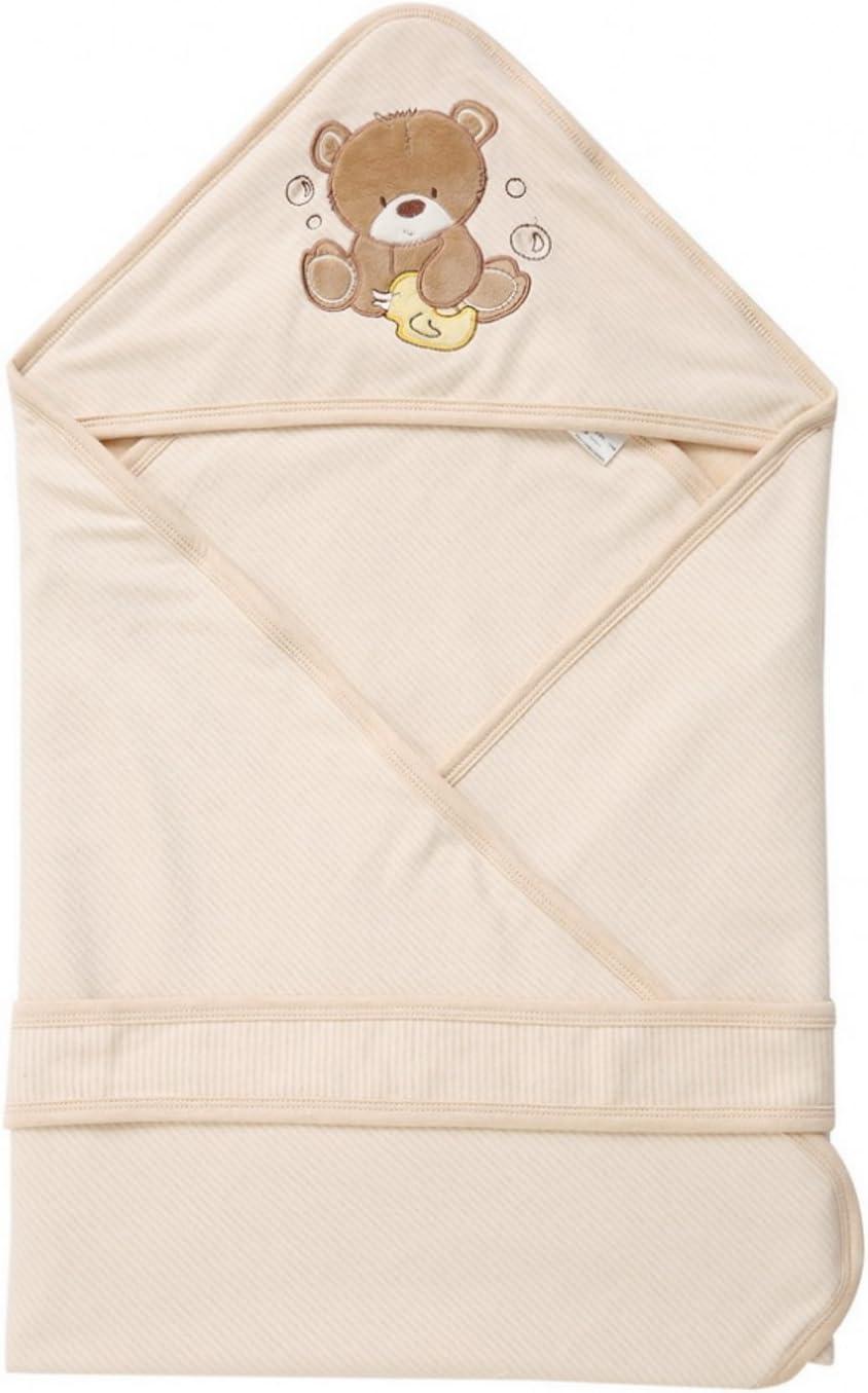 LIMISKY Mantas envolventes desmontable Algodón orgánico natural Mantas del bebé Saco de dormir para bebes Mantas suaves de los bebes Recién Nacidos De Envolver Otoño invierno 90X90cm Regalo para Bebé 4 estilos:
