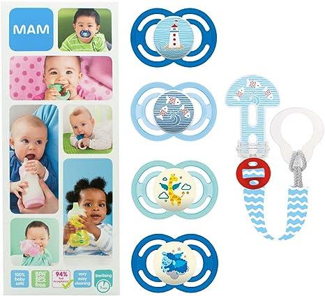MAM Premium Soothing Set, juego de regalos para bebés de +6 meses ...