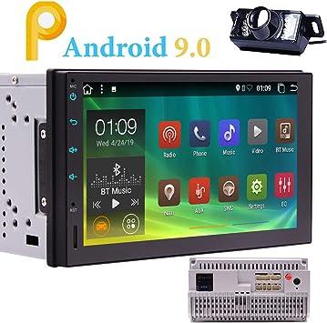 EINCAR Android 9.0 estéreo del Coche Doble DIN con GPS, WiFi ...