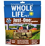 Cheap Whole Life Pet Pure Meat All Natural Freeze Dried Beef Liver Treats For Dogs And Cats, 10-Ounce