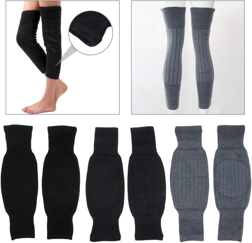 chiwanji Beinw/ärmer Beinstulpen Socken,Weichen Fleece gef/üttert