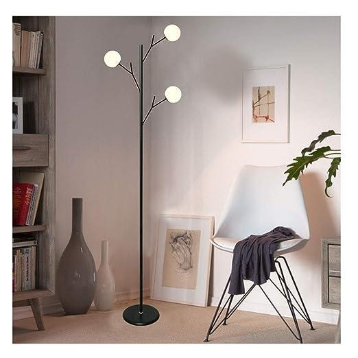WB_L Lámparas de pie Lámpara de pie moderna Lectura LED, luz ...