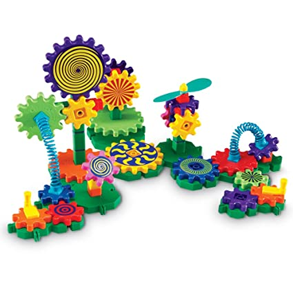Learning Resources Gears! Gears! Gears! Gizmos Building Set, Construction Toy, 83 Pieces, Ages 3+