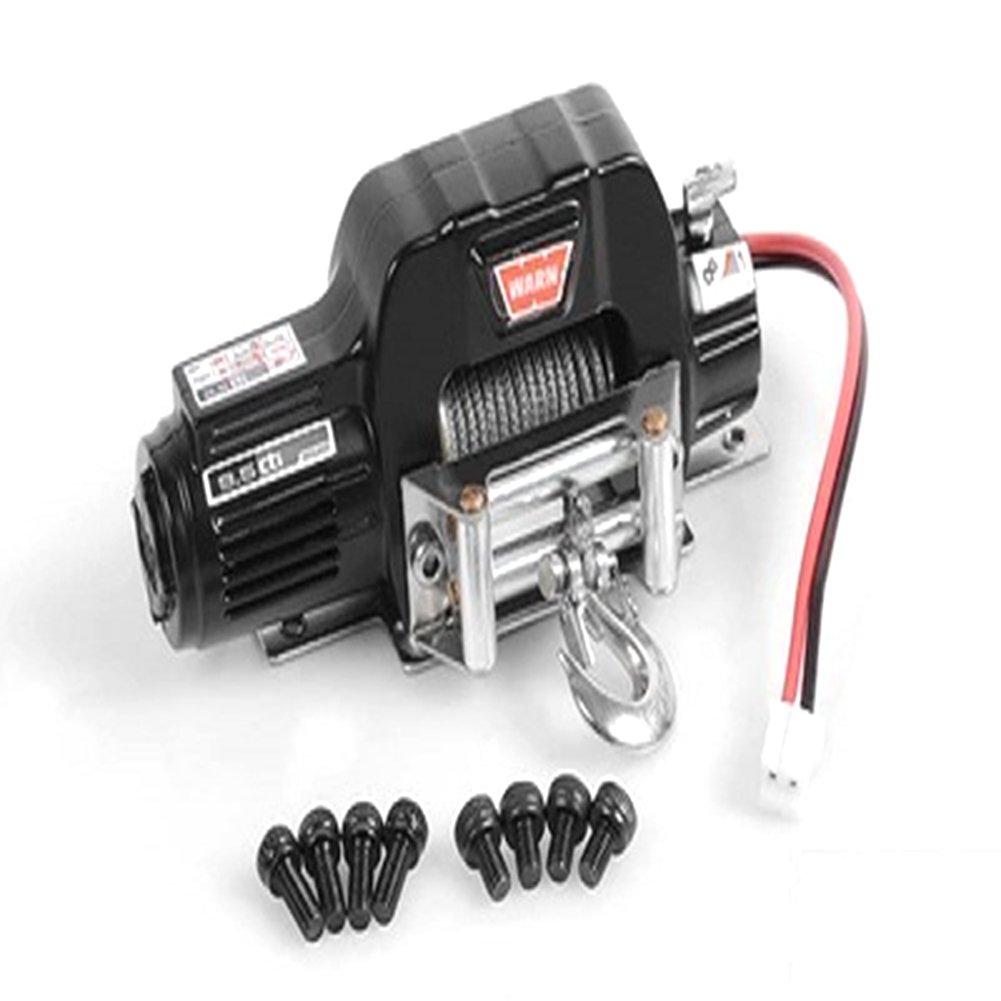 Zantec 1:10 Simuler Mini Treuil /Électrique en M/étal pour RC Rock Crawler TRX4 KM2 RC Voiture Accessoires