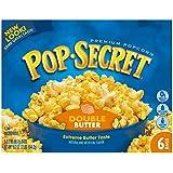 Pop Secret Popcorn, Double Butter, 6-Count