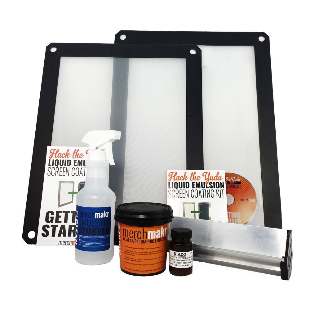 Hack the Yudu Screen Coating Kit With Two Yudu-Compatible Screens by Merchmakr by Merchmakr
