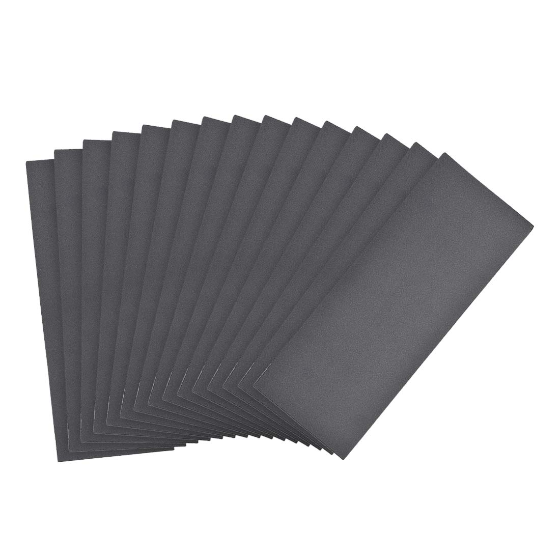 uxcell 500 Grits Wet Dry Sandpaper 9 x 3.7 Waterproof Sandpaper Sheets Silicon Carbide 15pcs