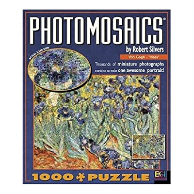 Buffalo Games Photomosaic Irises 1000 Piece Jigsaw Puzzle By Buffalo Games