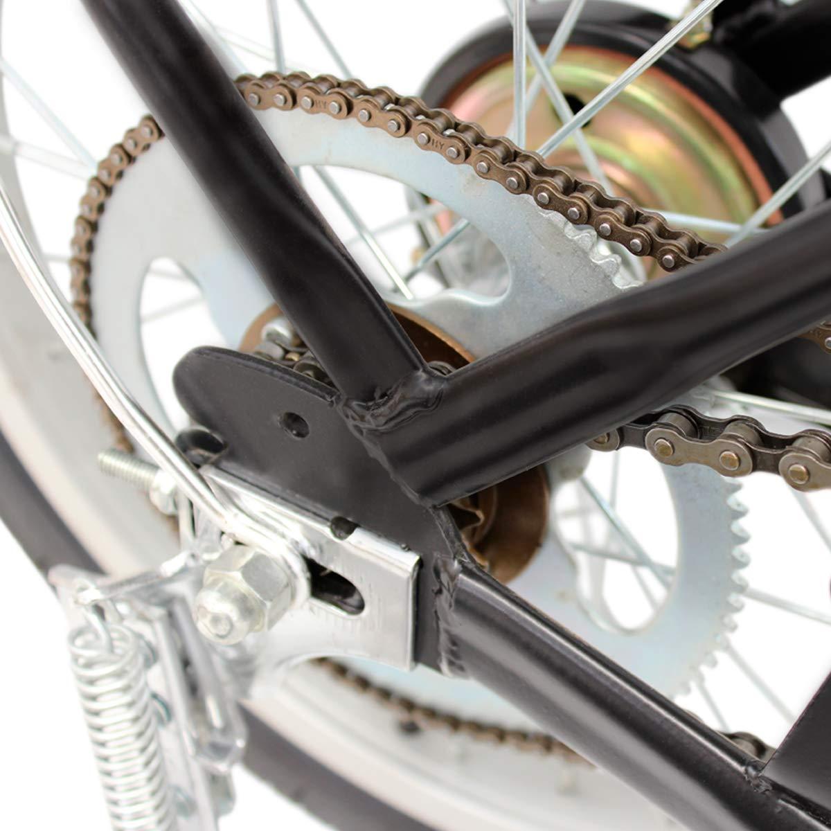 Riscko Bicicleta Eléctrica Plegable 250W de Potencia 25 km/h luz Delantera Acero Lacado con Ruedas de 16 Pulgadas (Gris): Amazon.es: Deportes y aire libre