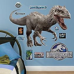 Fathead Indominus Rex-Jurassic World Junior Peel and Stick Wall Decals