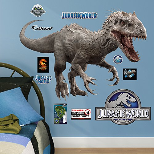 FATHEAD Indominus Rex: Jurassic World-X-Large Officially Licensed Removable Wall Decal ()