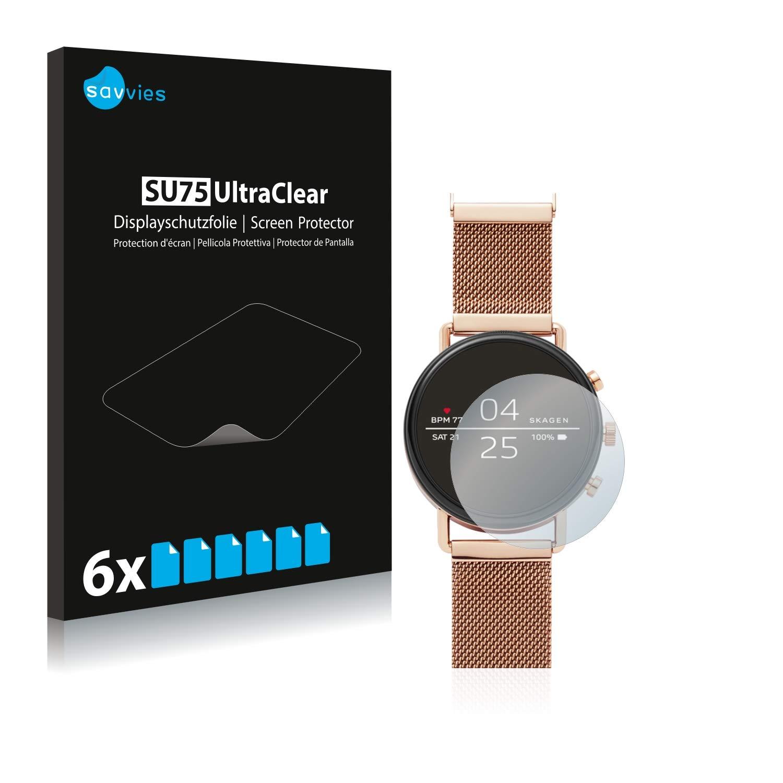 savvies Protector Pantalla Compatible con Skagen Smartwatch ...