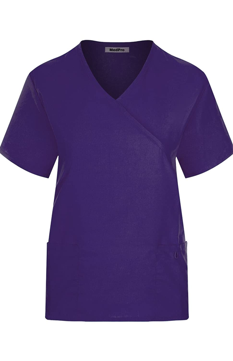 MedPro Womens Solid Medical Scrub Image 2