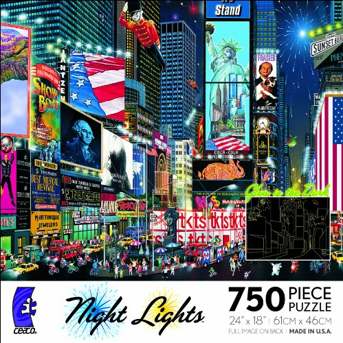 Ceaco Night Lights-Times Square