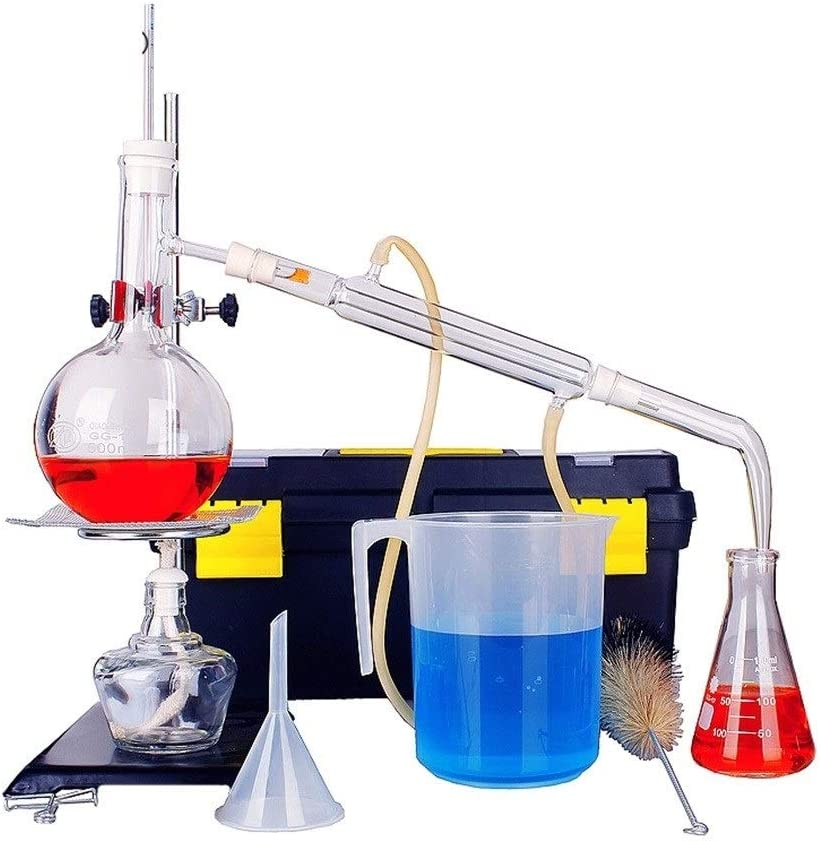 SHUYY 500 ml Laboratorio de destilación Aparato Aceite Esencial ...