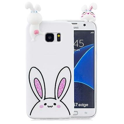 Tznzxm - Carcasa para Samsung Galaxy S7 Edge, diseño de ...