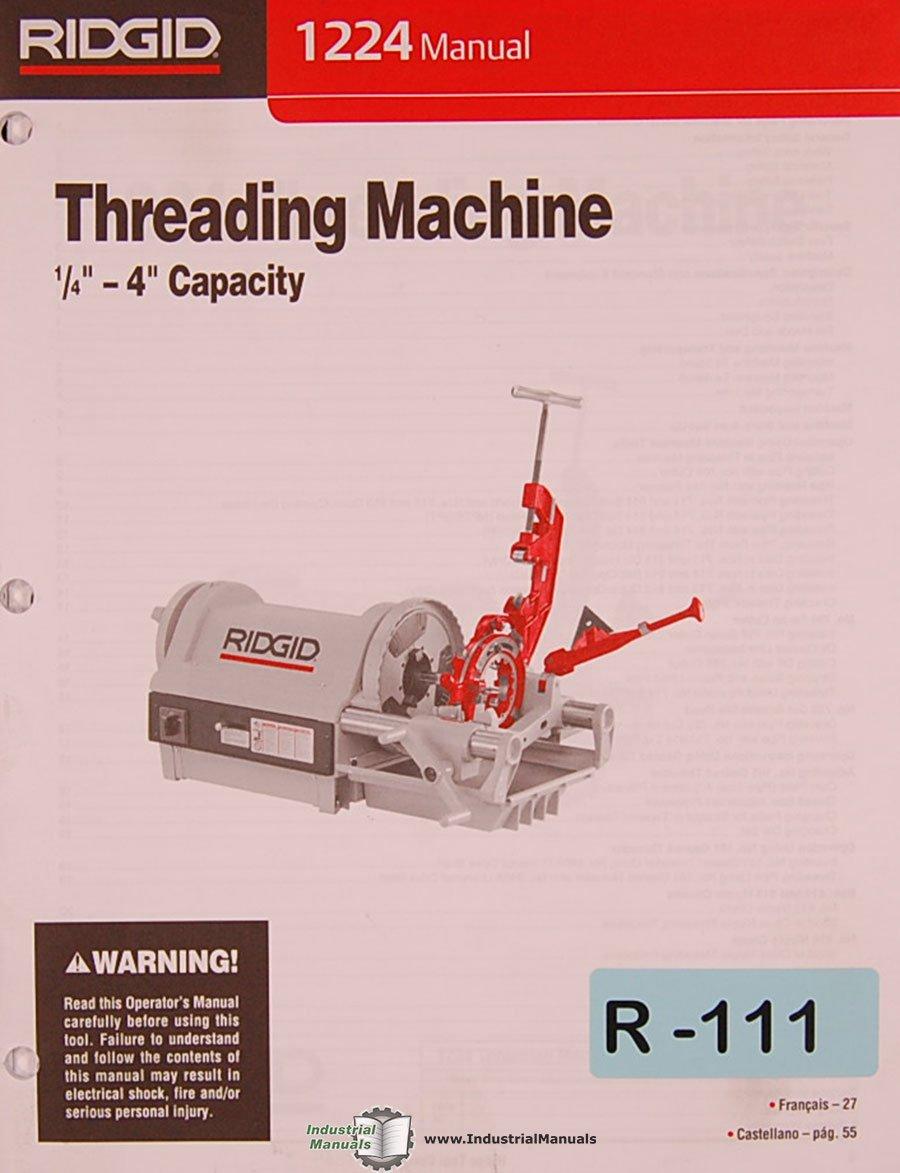 ridgid 700 wiring diagram ridgid die head left hand wiring