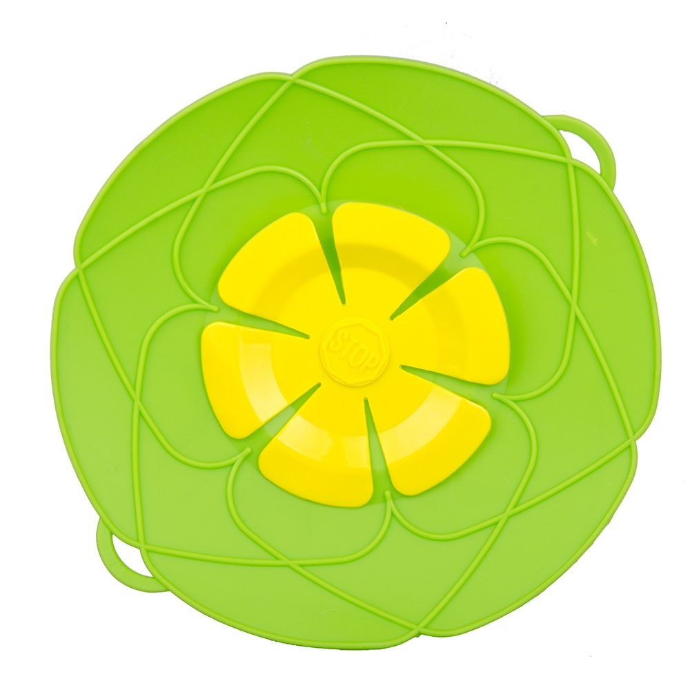 1 PC Cooking Tools Flower Silicone lid Spill Stopper Silicone Lid Cover For Pan HuaPa