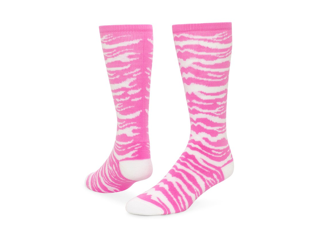 Red Lion Safari Acrylic Athletic Socks ( Pale Pink / White - Small ) Standard Merchandising 7913IIUT