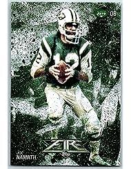 Football NFL 2014 Topps Fire #61 Joe Namath NM-MT+ NY Jets
