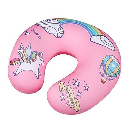 Niños almohada cervical Unicornio Power para comodidad en ...