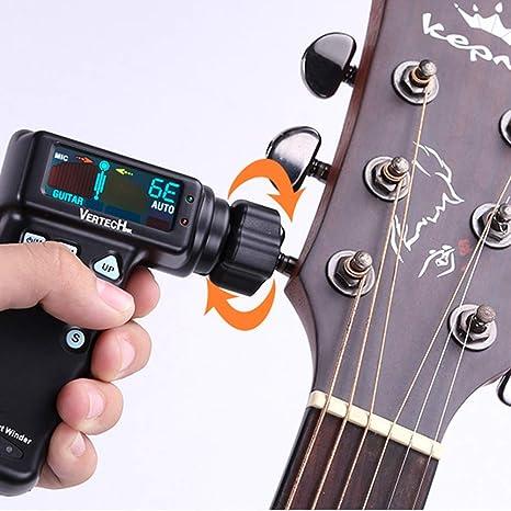Sintonizador de guitarra automático inteligente, afinador ...
