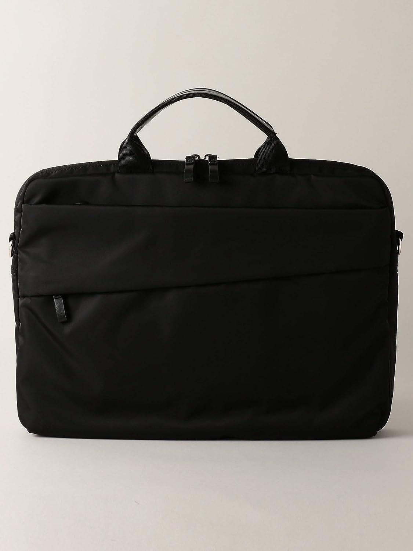 (ワークトリップ アウトフィッツ) 【WORK TRIP OUTFITS】PE WATER REPELLENT fabric ナロー ブリーフバッグ 33326990054 Free BLACK(09) B07PPRJX4D