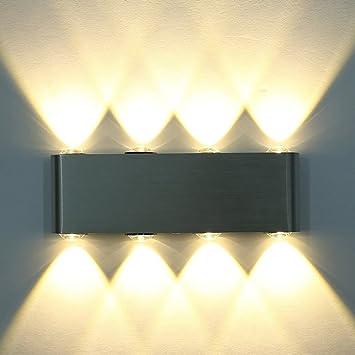 wandleuchte led innen, phoewon 8w modern led licht wandlampe ... - Wandleuchten Für Schlafzimmer