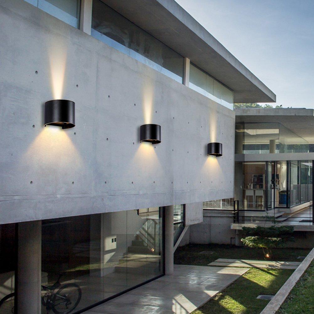 Amazon.com: lianqi lámpara de pared LED IP54 resistente al ...