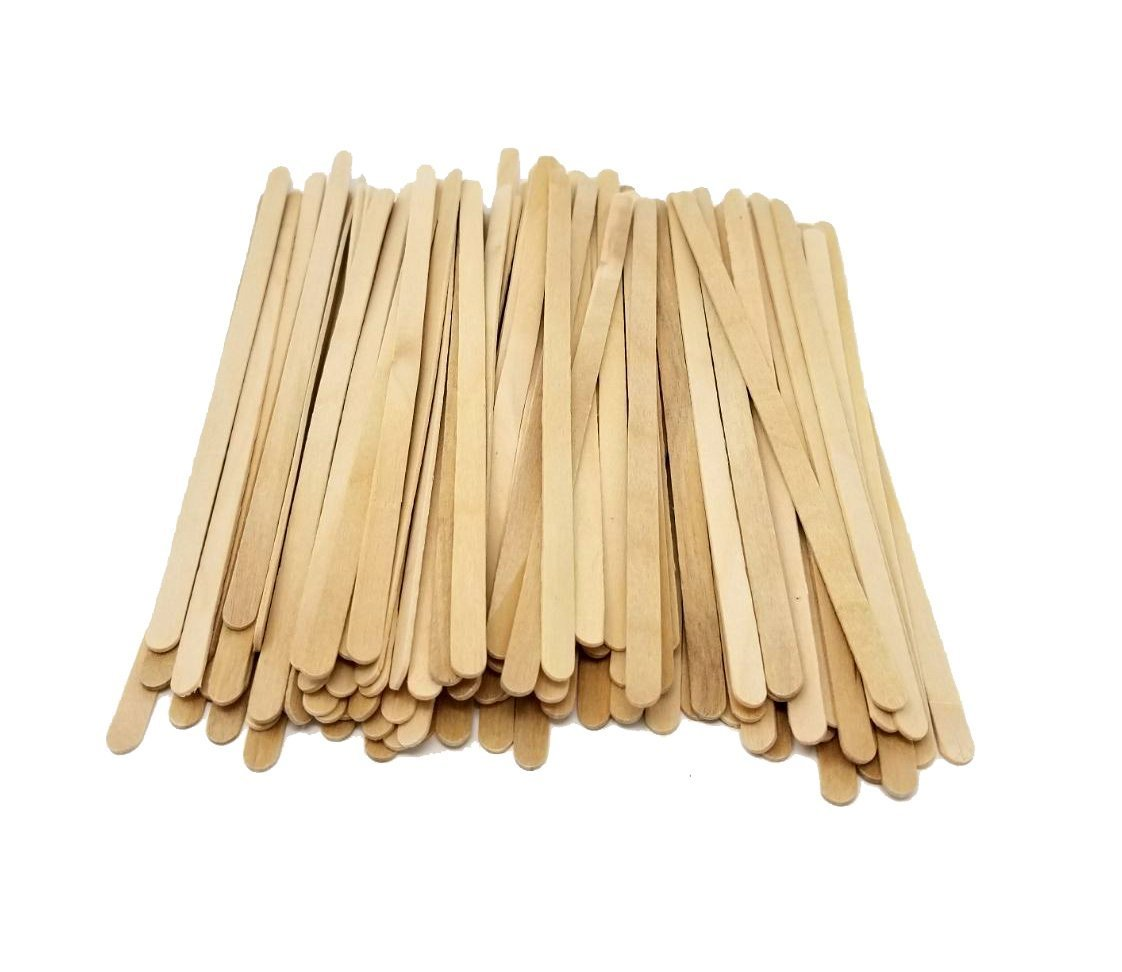 Wood Coffee Stirrers, Stir Sticks for Tea & Hot or Cold Beverages, Biodegradable, 7-Inch (1000 Count) by eDayDeal HomeGoods (10 Pack - 10,000) by eDayDeal HomeGoods (Image #2)