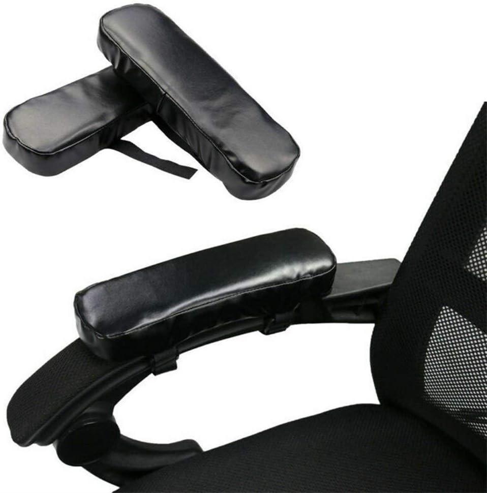 NOBRAND 1 par de memorias for sillas de Espuma Apoyabrazos Cojines del Asiento del Amortiguador de la Estera del Codo del Brazo de la Cubierta de la Esponja (Color : 1 Pieces)