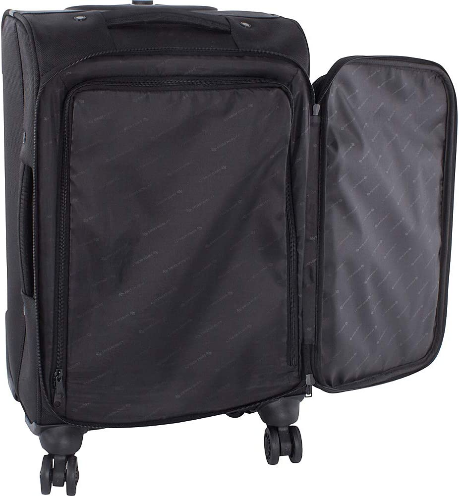 Black Swiss Mobility Purpose Business Carry On