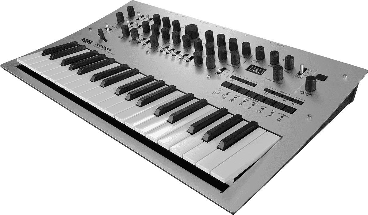 Korg Minilogue 4-Voice Polyphonic Analog Synth with Presets by Korg