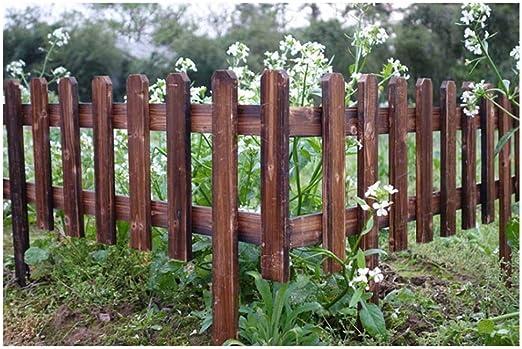 ZHANWEI Valla de jardín De Madera Huerta Césped Decorativo Al Aire Libre Bordura de jardín, 6 Tamaños (Color : 6pcs, Size : 92x75/45cm): Amazon.es: Jardín
