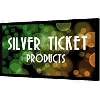 "STR-169120 Silver Ticket 120"" Diagonal 16:9 4K Ultra HD Ready HDTV (6 Piece Fixed Frame) Projector Screen White Material"