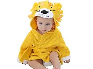 Huertuer Toallita de Dormitorio Toalla de baño para bebés Albornoz ...