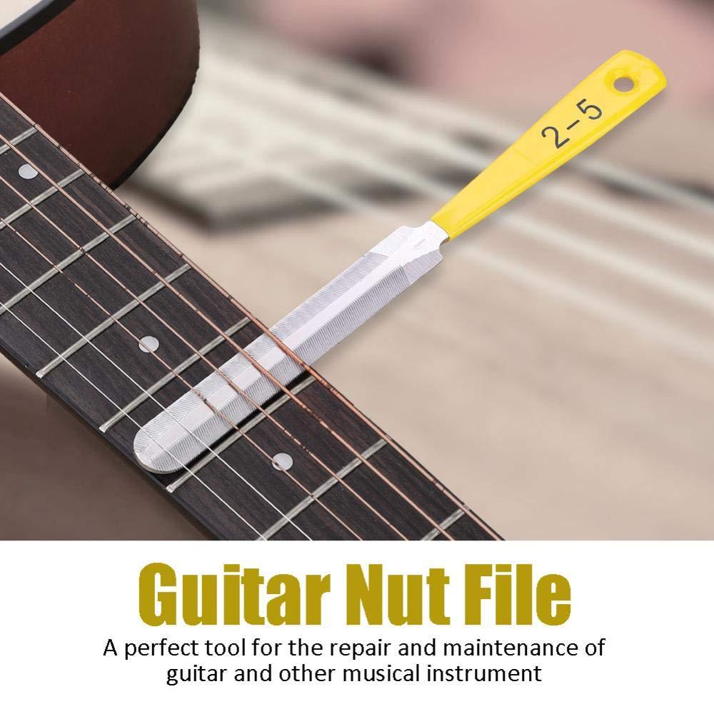 3Pcs//Lot Guitar Nut Bridge File Set Luthiers Tool for Guitar Banjo String Musical Instrument