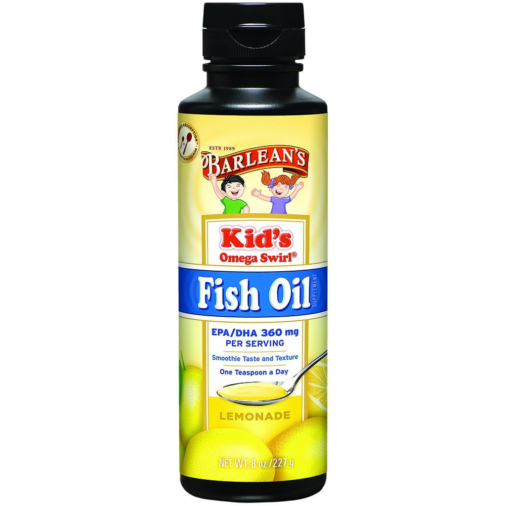 Why do children take fish oil