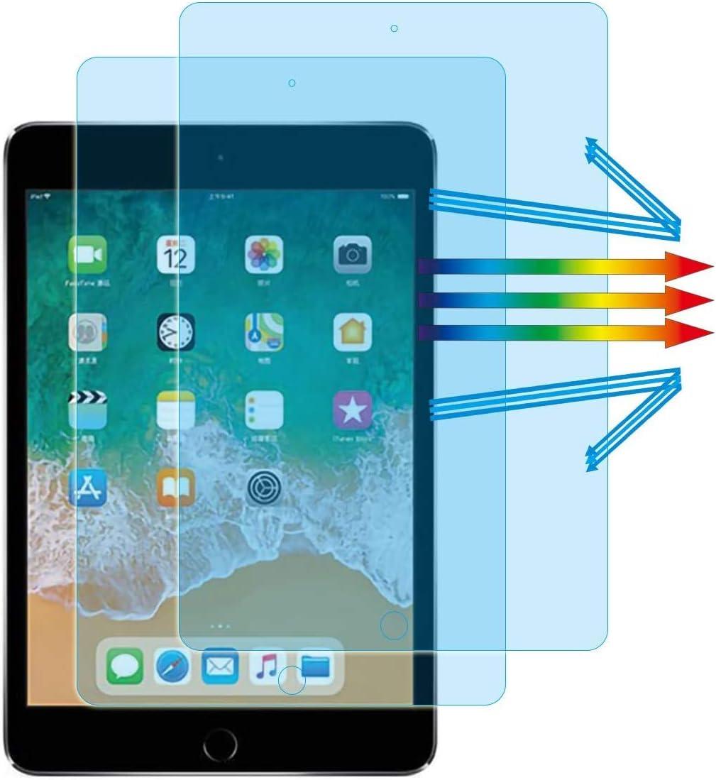 YINOVEEN Compatible iPad 7.9 Inch Anti Blue Light Screen Protector (2PCS), for Apple iPad Mini 5 (2019) and iPad Mini 4 7.9