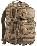 mochila Mil Tec US Assault de 20 L camuflaje Woodland-Arid