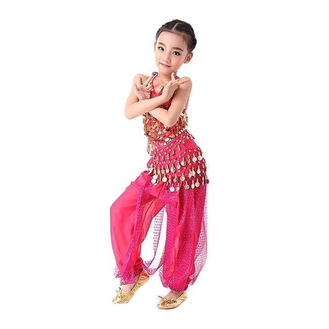 CoastaCloud-5 Piezas Belly Dance Danza Baile India de Niños ...