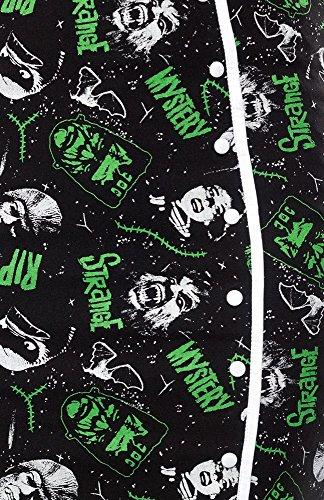 Sourpuss lápiz Rock Horror Bomb Skirt claro SPSK20 negro