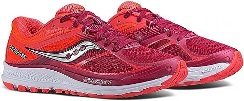 Saucony Guide 10, Zapatillas Running Mujer Rojo Size: 44 EU ...