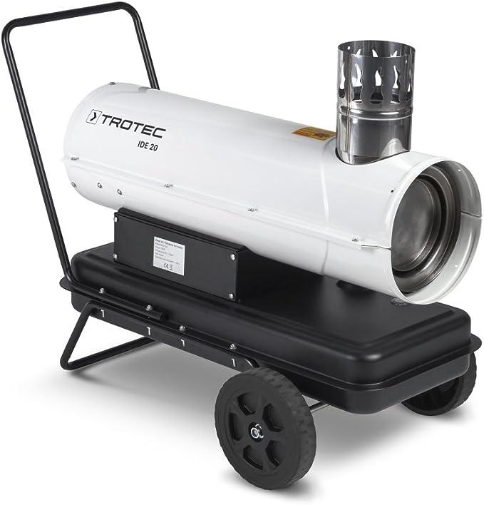 TROTEC Direkt Ölheizer IDE 20 D Heizkanone Heizgerät Zeltheizung Bauheizer 20 kW